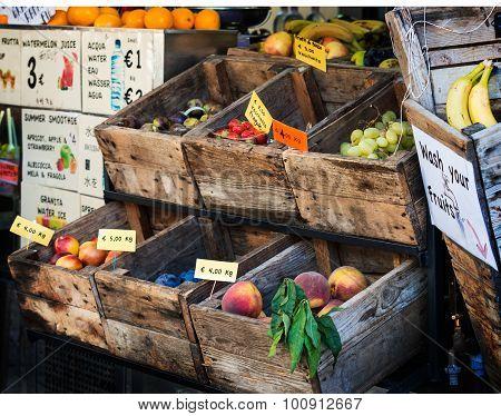 Older Greengrocer Florence