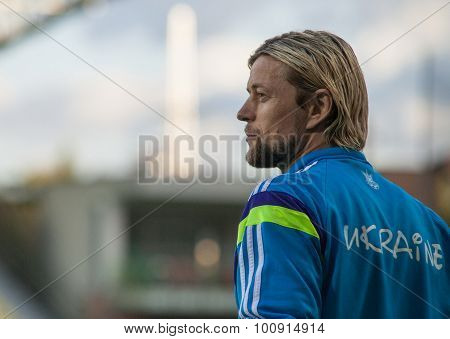 Anatoliy Tymoshchuk - Ukrainian National Soccer Team Player