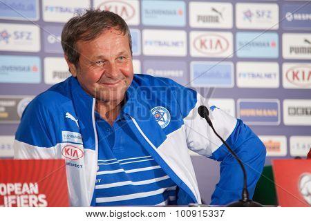 Soccer Team Head Coach Ján Kozák