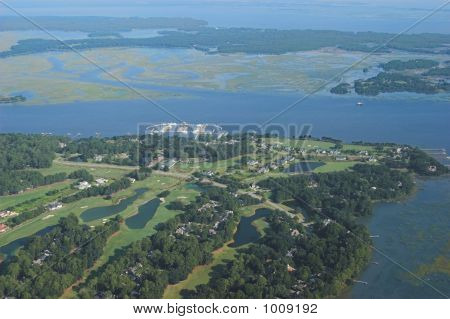 Golf Course Aerial2