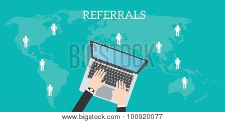 referrals business location