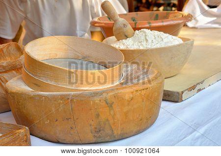 Sieve For Flour