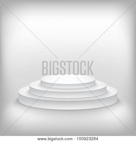 Photorealistic Winner Podium Stage Background. Used for Product