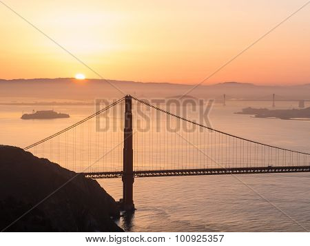 Golden Gate Bridge, Sfo