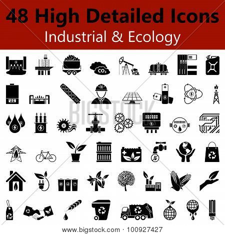 Industrial And Ecology Smooth Icons