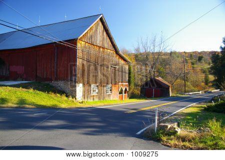 Abandoned Dairy Farm