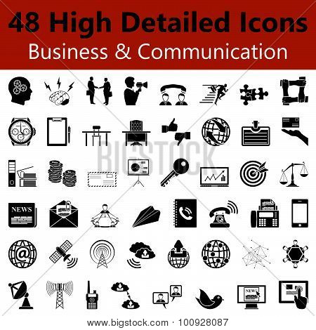 Business And Communication  Smooth Icons