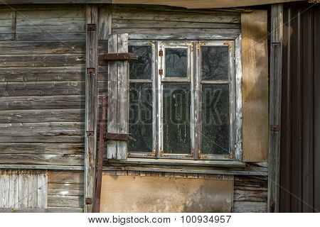 Window In Old Mansion