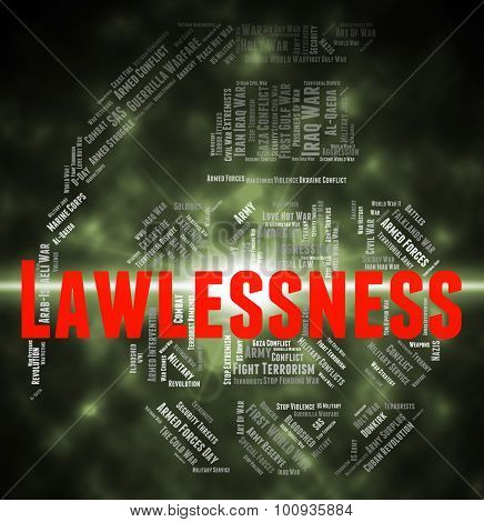 Lawlessness Word Means Text Mutinous And Revolutionary