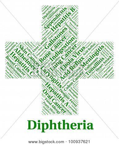 Diphtheria Illness Shows Corynebacterium Diphtheriae And Afflict