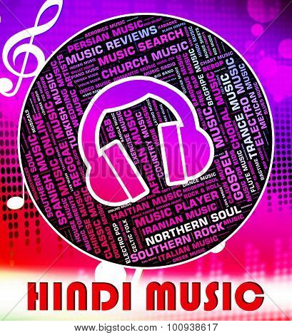 Hindi Music Shows Sound Track And Audio