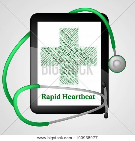 Rapid Heartbeat Indicates Ill Health And Disease