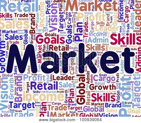 Market Word Means Mart Wordclouds And Wordcloud