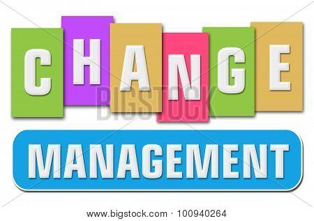 Change Management Colorful Stripes