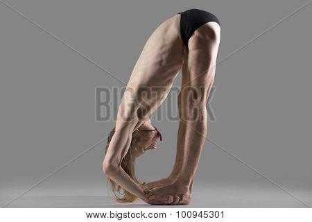 Hands To Feet Pose (padahastasana) Yoga Posture