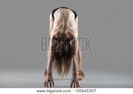 Variation Of Hands To Feet Pose (padahastasana) Yoga Posture