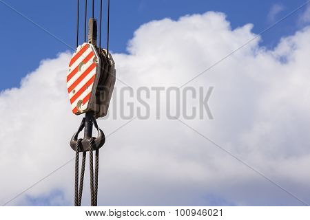 Rigging Crane Hook Cables