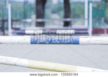 Equestrian Jumping Poles.