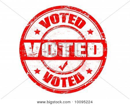 Voted Stamp