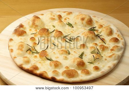 Plain Cauliflower Pizza Crust On