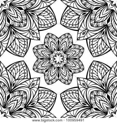 Vector Intricate Pattern.