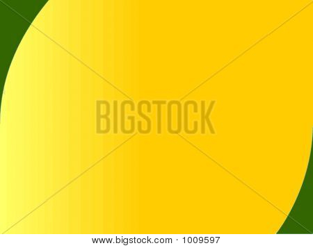 Yellow, Gold And Green Background
