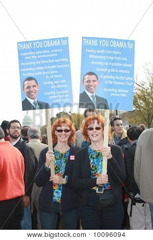 Twins for Obama