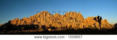 Rock Formation At Joshua Tree