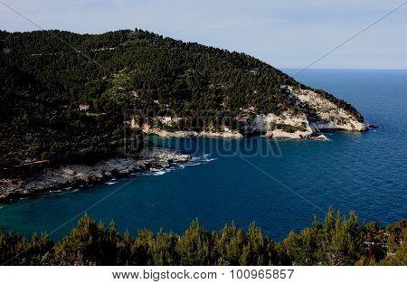 The Coast Near Vieste, Gargano, Puglia, Italy
