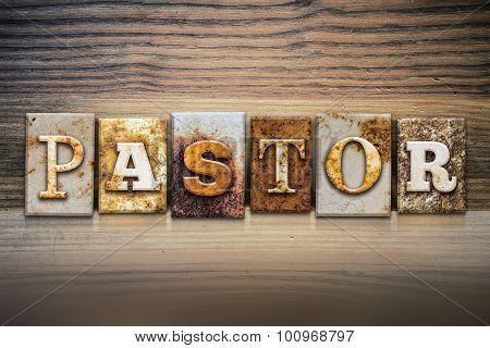 Pastor Concept Letterpress Theme
