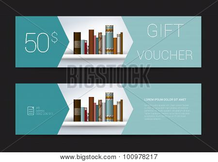 Excllusive Book Store Gift Voucher.