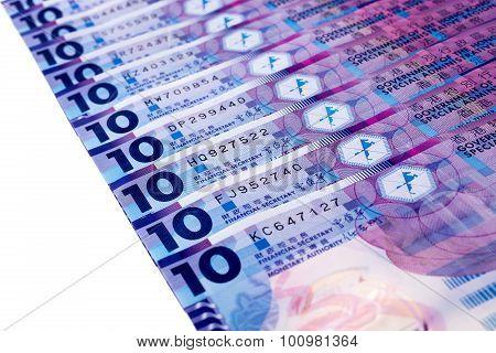 Hong Kong 10-dollar Note