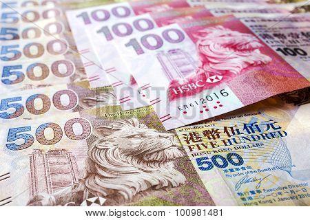 Hong Kong Dollar Notes