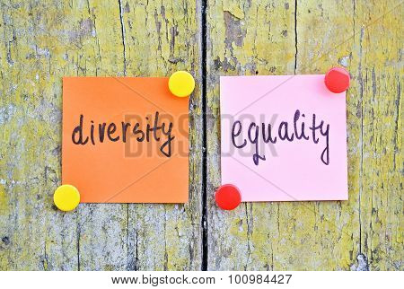 Diversity And Equality