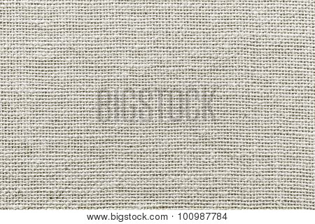 Rough Wattled Sackcloth Texture Of Pale Color