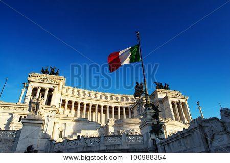 Monument Vittorio Emanuele II, Rome, Italy