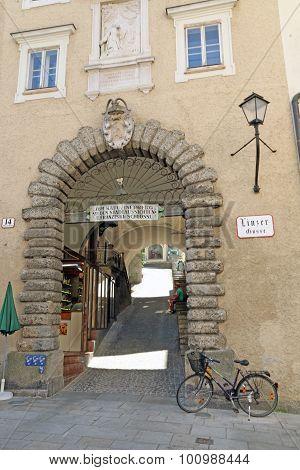 Salzburg's Old Town