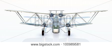British biplane airliner from the 1930s
