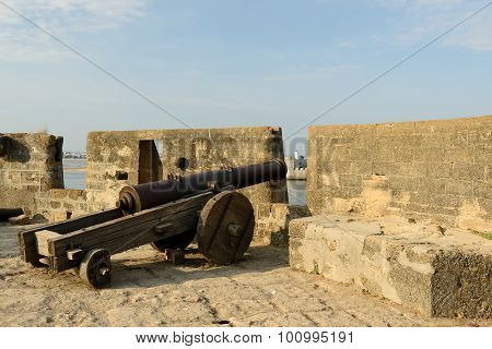 Cannon On Walls