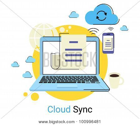 Cloud synchronization