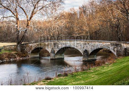 Burnside Bridge Landscape