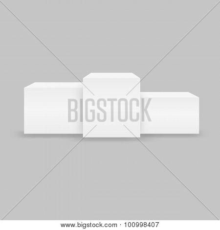 Pedestal Podium Cubes