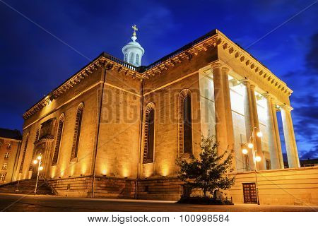 Archcathedral Of Christ The King In Katowice