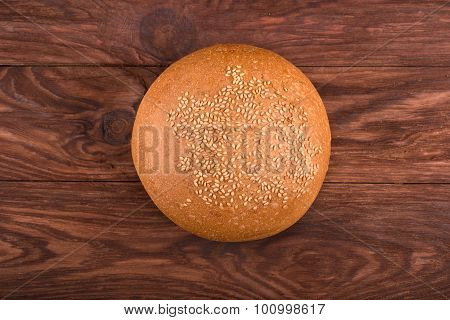 Bun With Sesame Seeds
