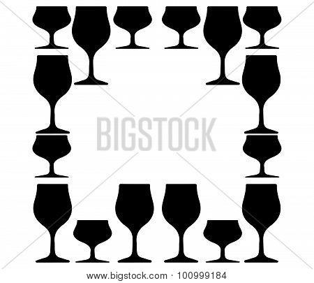 Alcoholic Glass Silhouette