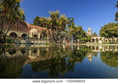 Balboa Park At Pasadena In Afternoon