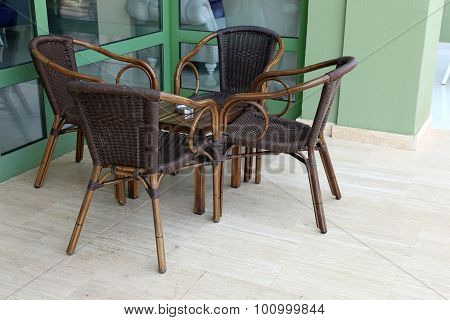Table In The Cafe