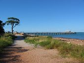 picture of darwin  - The wharf where the ferry from Darwin arrives at Mandorah Beach - JPG