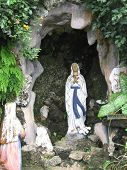 picture of grotto  - The Grotto of the Blessed Virgin Mary - JPG