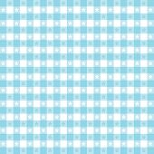 Seamless Tablecloth Pattern, Aqua